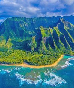 Hawaii Landscape adult paint by numbers