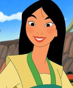 The Gorgeous Pocahontas Paint By numbers