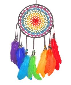 Colorful Dream catcher adult paint by numbers