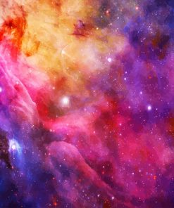 Colorful Space Details paint by number