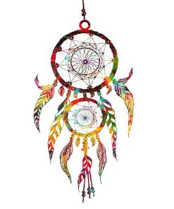 Simple colorful dream catcher adult paint by numbers