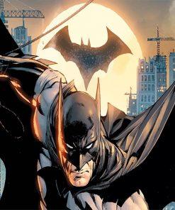 Super Hero Batman adult paint by number
