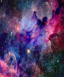 Amazing Colorful Galaxy paint by number