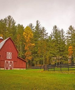Beautiful Farm paint by number