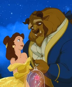 Beauty And The Beast NEW paint by number