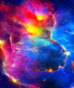 Colorful Universe paint by number