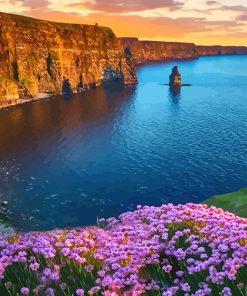 Ireland Landscape paint by number