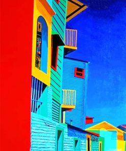 La Boca Argentina Paint By Numbers