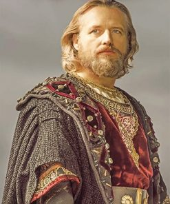 Vikings King adult paint by numbers