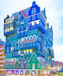 Inntel Hotels Amsterdam Paint By Numbers