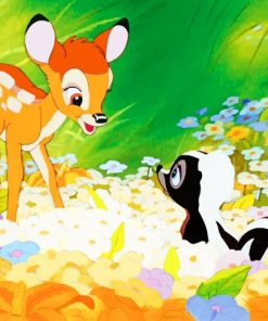 Bambi Disney adult paint by numbers