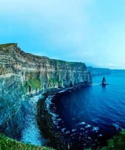 Cliffs Of Moher Liscannor Ireland paint by number