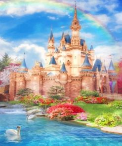 Disney Castle Dreams Paint By numbers