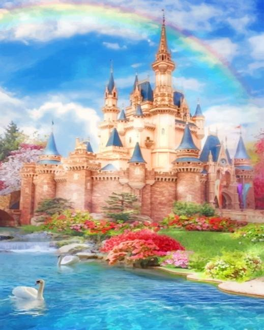 Disney Castle Dreams Paint By numbers