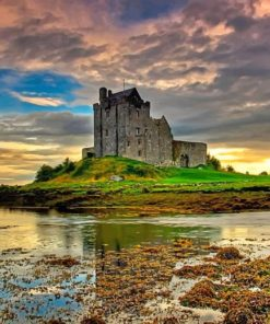 Dunguaire Castle Ireland adult paint by numbers