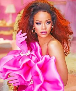 Rihanna Paint By Numbers