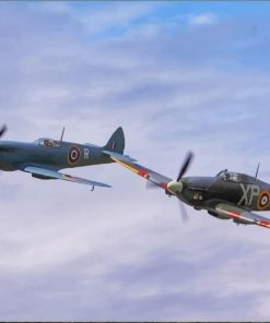 Supermarine Spitfire paint by numbers