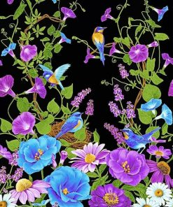 Beautiful Different Flowers paint by number