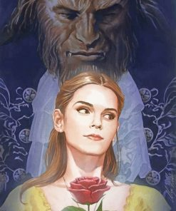 Belle And The Beast Paint By Numbers