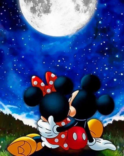 Couple Disney Mickey And Minnie