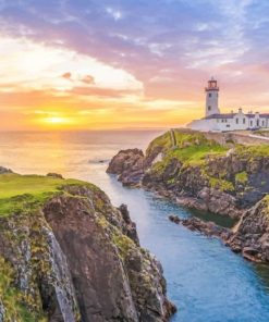fanad head lighthouse Ireland adult paint by number
