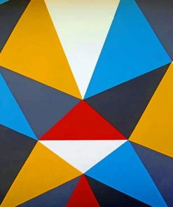 Geometric Art Walls paint By numbers