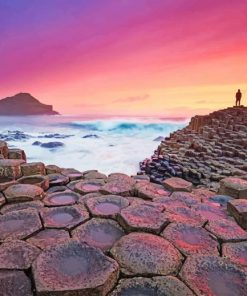 giants causeway Northern ireland adult paint by number