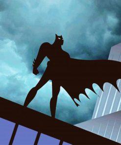 Batman Night Hero paint by numbers