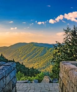 Great Smoky Mountains National Park paint by numbers