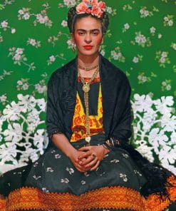 Portrait Frida kahlo paint by numbers