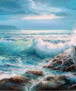 8844-Waves-Crashing-on-Rocks-Paint-by-Numbers-Kits-for-Adults-DIY-1