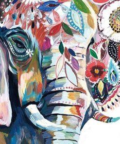 ElephantElephant Paint by numbers