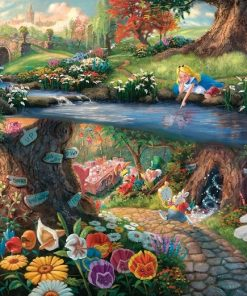 Alice In Wonderland paint by numbers