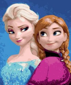 Disney Frozen paint by numbers