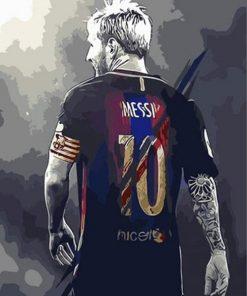 Bricolage-colorings-images-par-num-ros-avec-Lionel-Andr-s-Messi-image-dessin-Relief-peinture-par