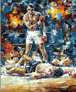 Muhammad Ali Paint By Numbers