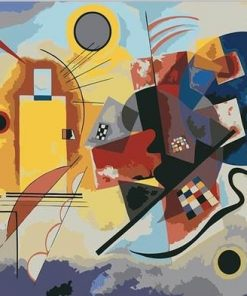 Wassily Kandinsky Yellow Red Blue Paint by numbers