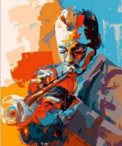 Musicians Jazz Paint By Numbers