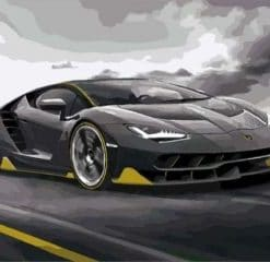 Lamborghini Centenario paint by numbers