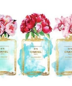 Coco Chanel Roses Paint By Numbers