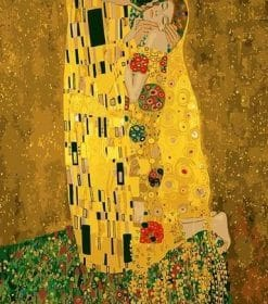 The Kiss Gustav Klimt paint by numbers