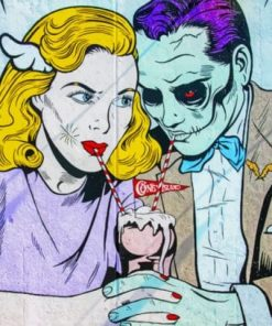 Couple Pop Art Paint By Numbers