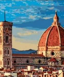 Florence Cathedral paint by numbers