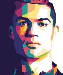 Cristiano-Ronaldo-On-Pop-Art-DIY-People-Paint-By-Numbers-PBN-25241