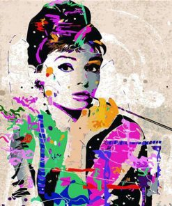 Audrey Hepburn Paint By Numbers