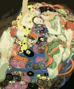 The Maiden Gustav Klimt Paint by numbers