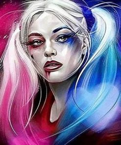 Harley Quinn Paint By Numbers
