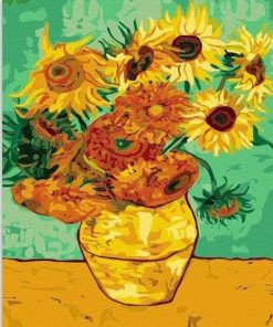 Sunflowers Vincent Van Gogh Paint by numbers