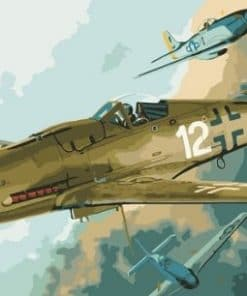 Eduard Plane Paint By Numbers