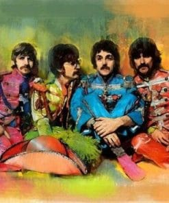 Band The Beatles Paint By Numbers